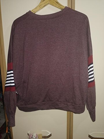 Bordo Addax Tekstil Sweatshirt