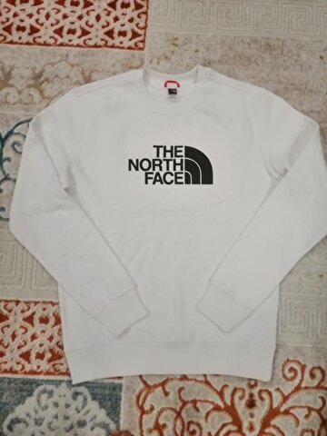 Beyaz The North Face Sweatshirt