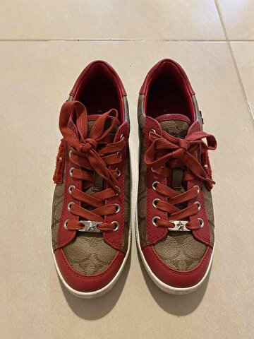 Bordo Coach Sneakers