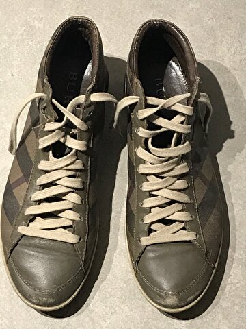 Haki Burberry Sneakers