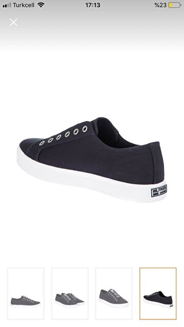 Lacivert Tommy Hilfiger Sneakers 250 TL 4
