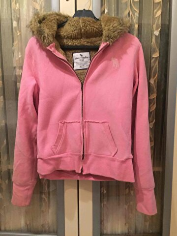 Pembe Abercrombie & Fitch Mont