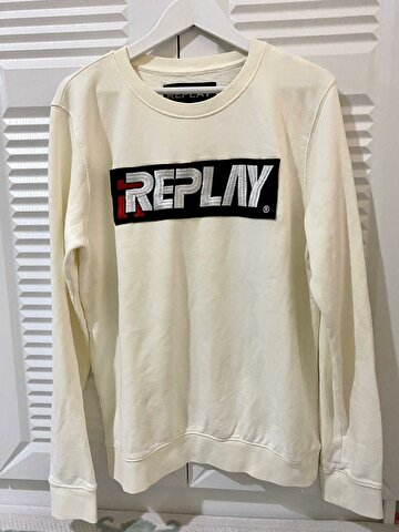 Bej Replay Sweatshirt