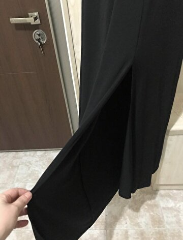 Siyah Forever 21 Maxi Elbise 300 TL 3