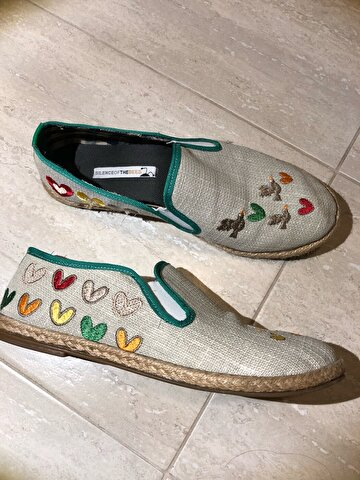 Bej Silence of The Bees Espadril 72 TL 1