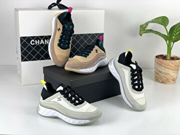 Beyaz Chanel Sneakers