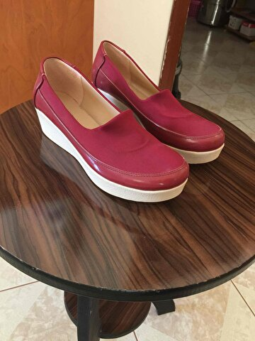Bordo Zara Loafer