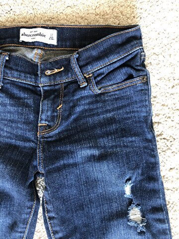 Lacivert Abercrombie & Fitch Skinny 85 TL 1