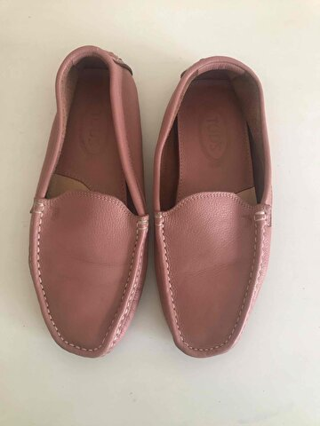 Pembe Tod's Loafer