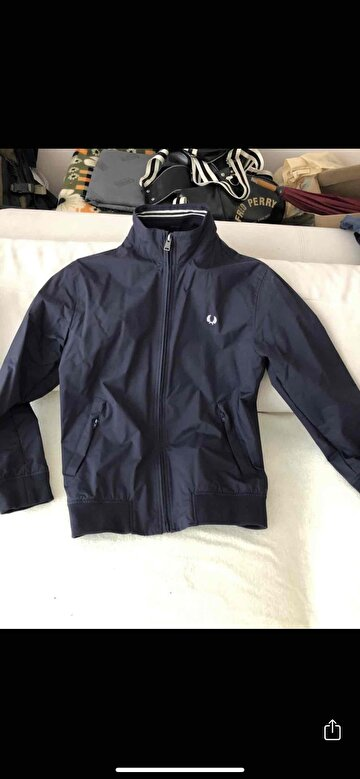 Lacivert Fred Perry Mont