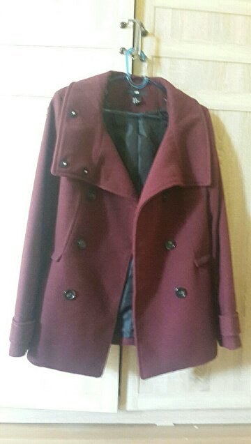 Bordo H&M Kaban/Palto