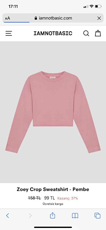 Iamnotbasic Sweatshirt