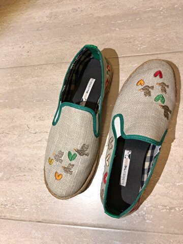 Bej Silence of The Bees Espadril 72 TL 2