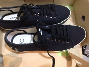 Lacivert Fred Perry Espadril