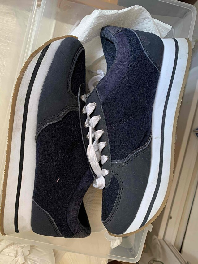Pull and Bear platform sneaker