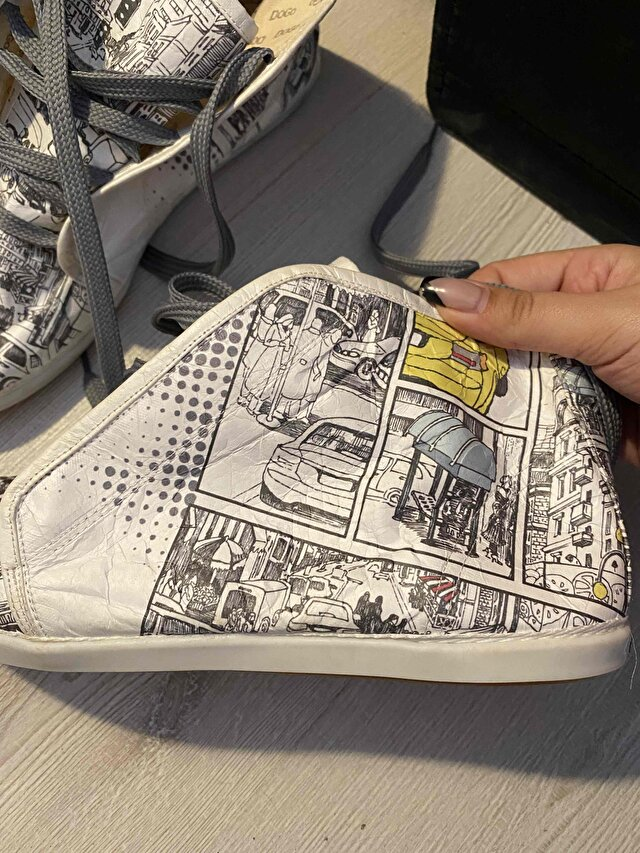 Beyaz Dogo Shoes Sneakers 1