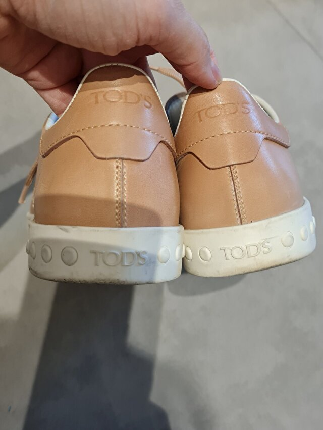 Camel Tod's Sneakers 2