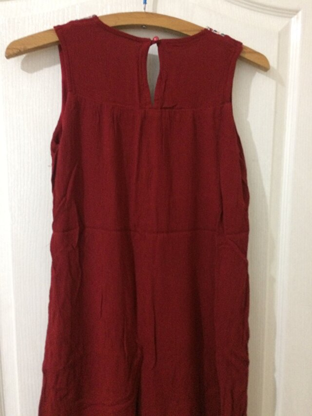 Bordo My Dress Shop Mini Elbise 8 TL 2