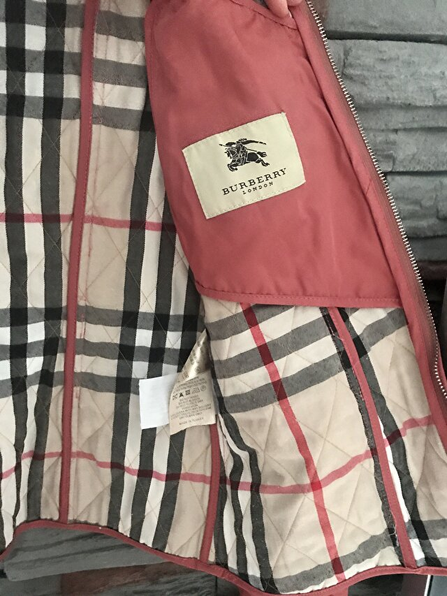Pembe Burberry Mont 1.125 TL 5