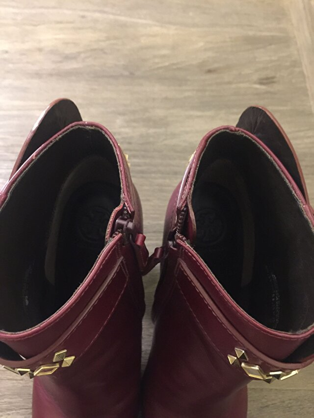 Bordo Tory Burch Bot 4