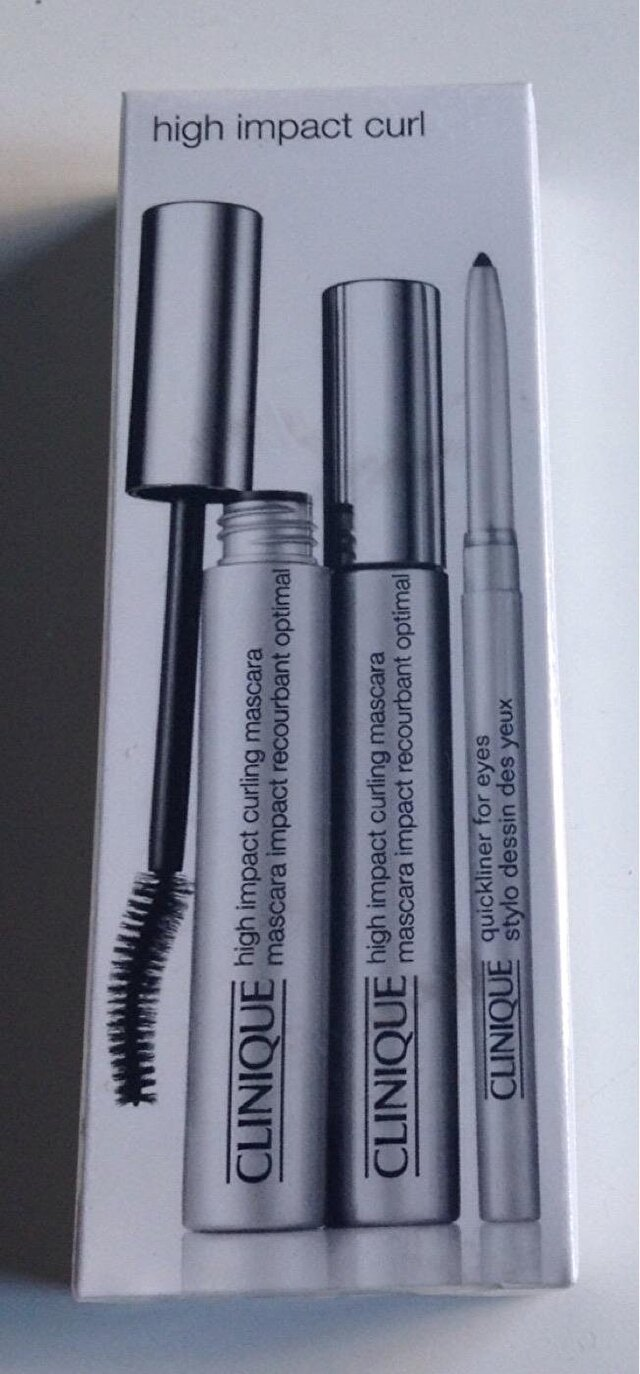 CLINIQUE High Impact Curling Mascara&Quickliner for eyes