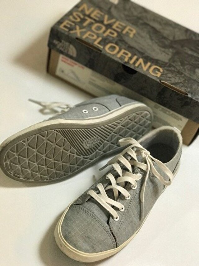 Gri The North Face Sneakers 100 TL 1