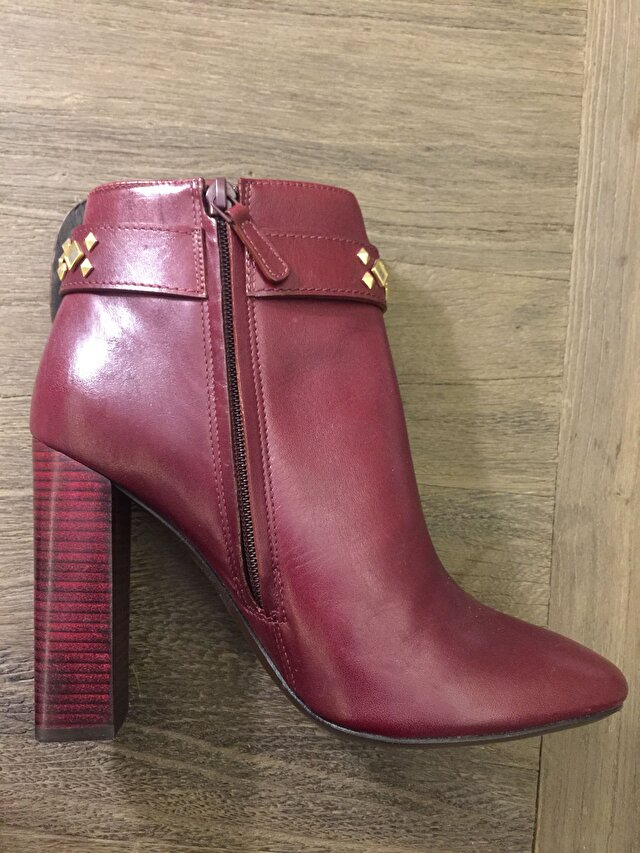 Bordo Tory Burch Bot 6