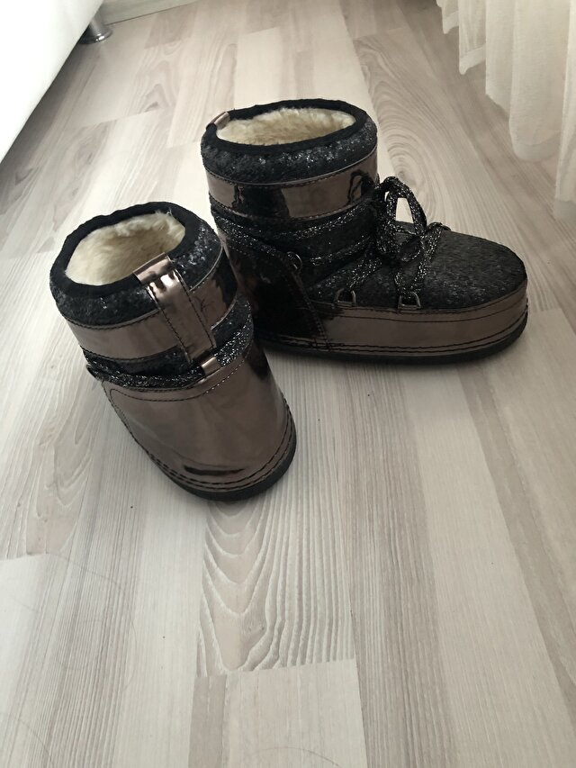 Metalik Moon Boot Bot 250 TL 1