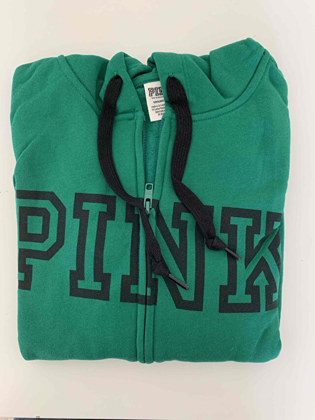 Yeşil Victoria's Secret Sweatshirt 2