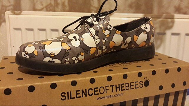 Gri Silence of The Bees Casual Ayakkabı 50 TL 1