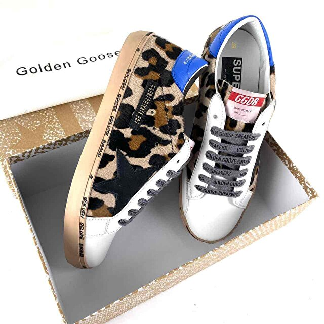 Golden Goose Super -Star Leopard