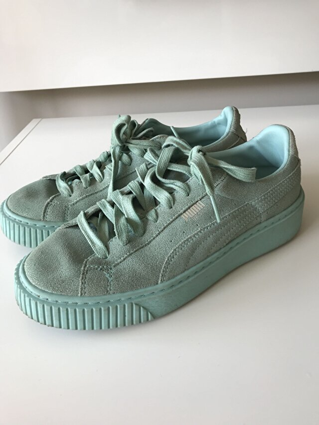 Puma yesil sneakers
