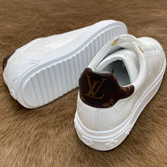 Beyaz Louis Vuitton Sneakers 5