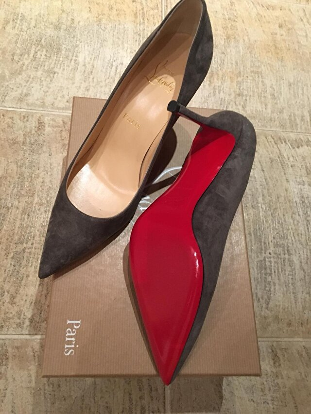 Gri Christian Louboutin Stiletto 2.750 TL 2