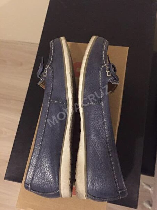 Lacivert Marks & Spencer Loafer 40 TL 2