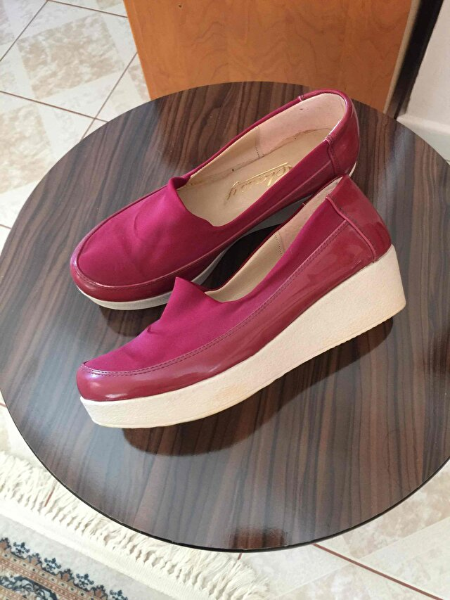 Bordo Zara Loafer 3