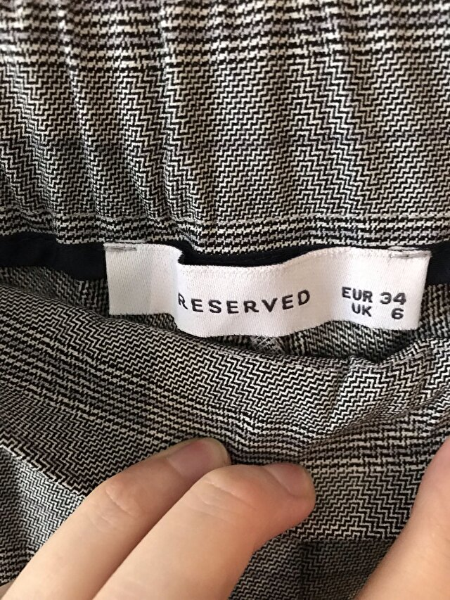 Gri Reserved Casual Pantolon 1