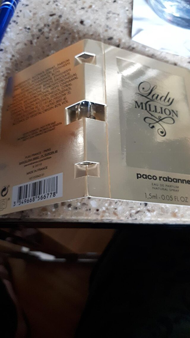 PACO RABANNE LADY MILLION TESTER