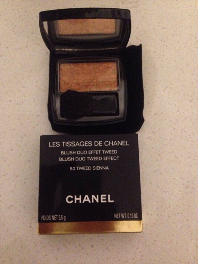 CHANEL - LES TISSGES DE CHANEL- Blush duo tweed effect- 50 TWEED SIEN