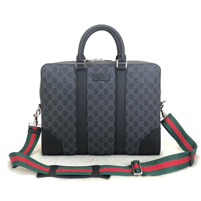Gucci Supreme Briefcase