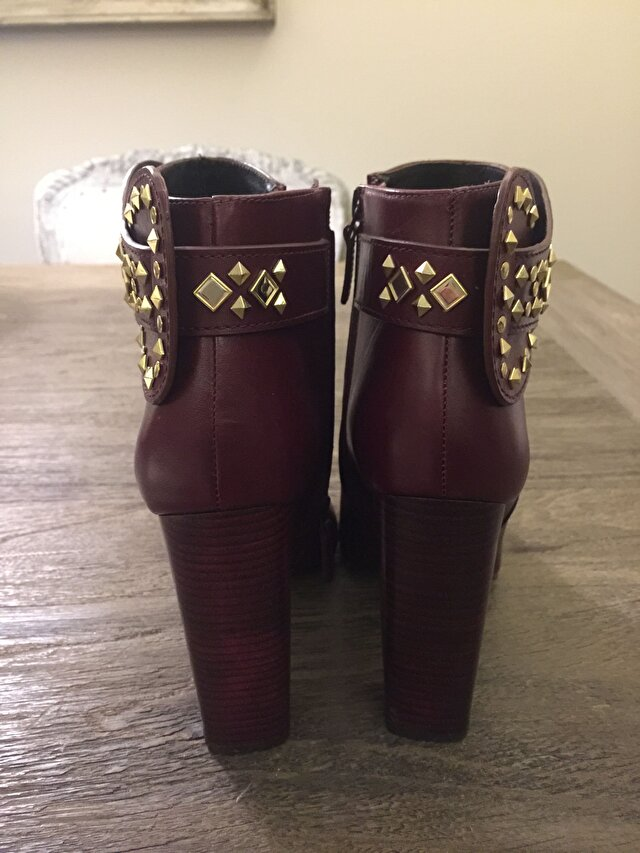 Bordo Tory Burch Bot 2