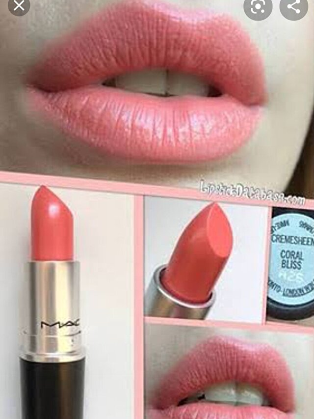 MAC CORAL BLISS CREAMSHEEN RUJ