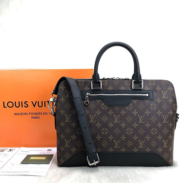 Louis Vuitton Avenue Soft Briefcase