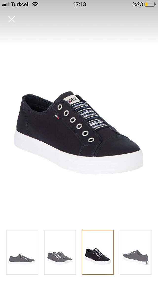 Lacivert Tommy Hilfiger Sneakers 250 TL 0