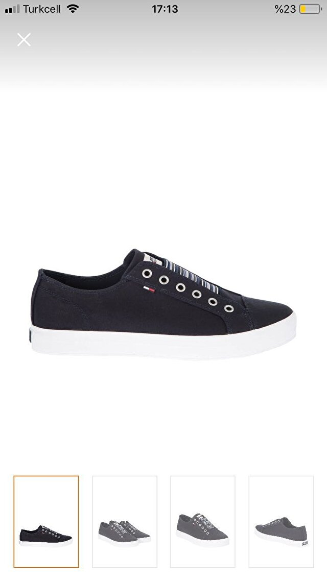 Lacivert Tommy Hilfiger Sneakers 250 TL 3