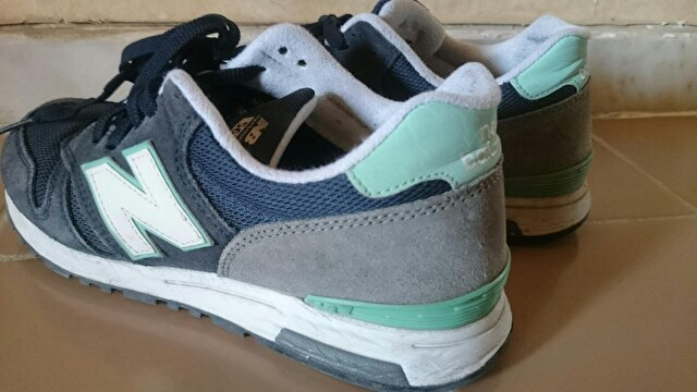Lacivert New Balance Sneakers 144 TL 2