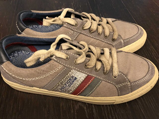 Gri Tommy Hilfiger Sneakers 150 TL 0