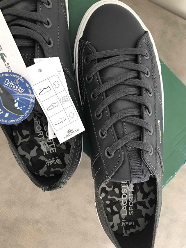 Gri Lacoste Sneakers 4