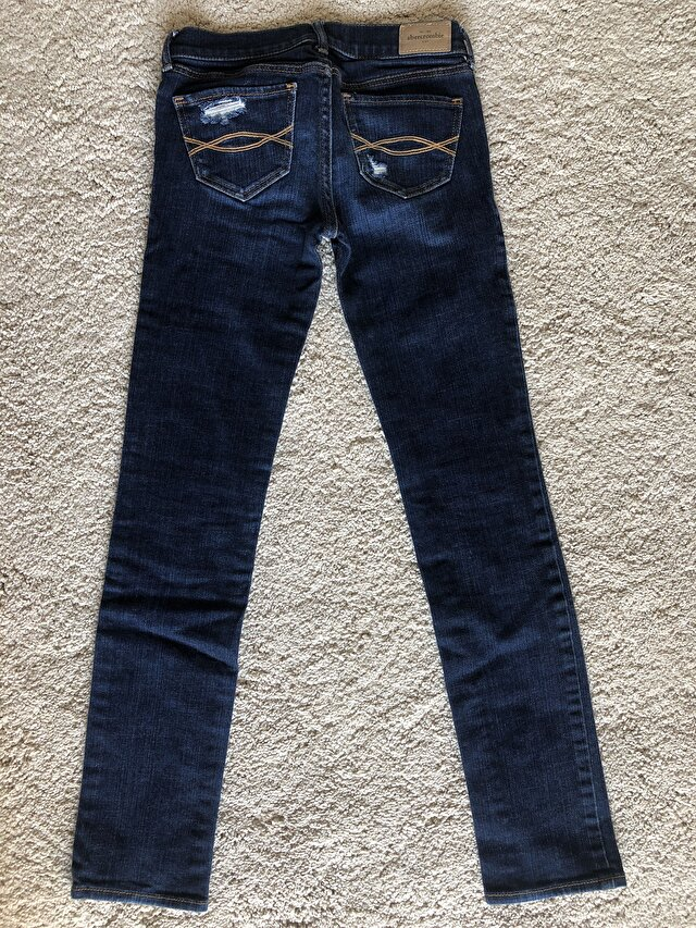 Lacivert Abercrombie & Fitch Skinny 85 TL 2