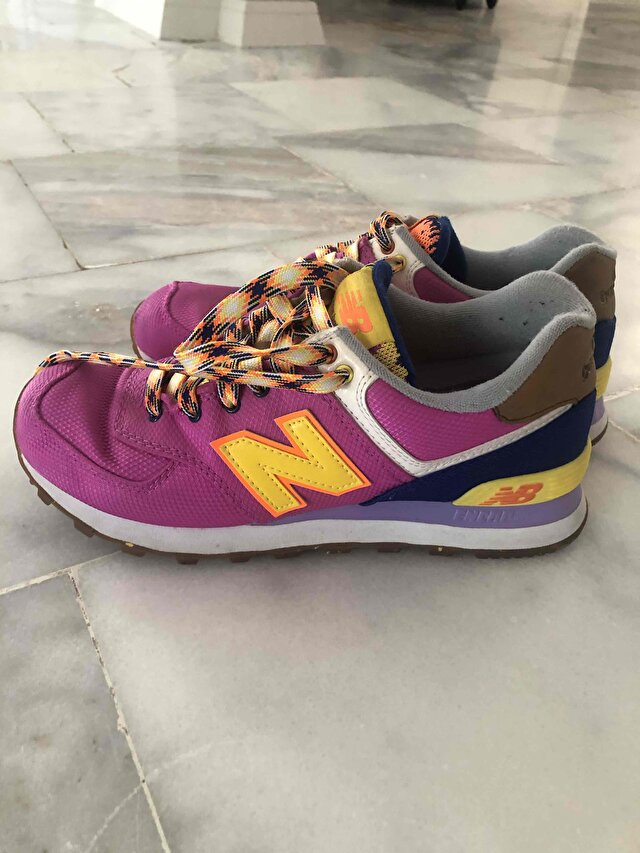New balance 574  pembe sneakers